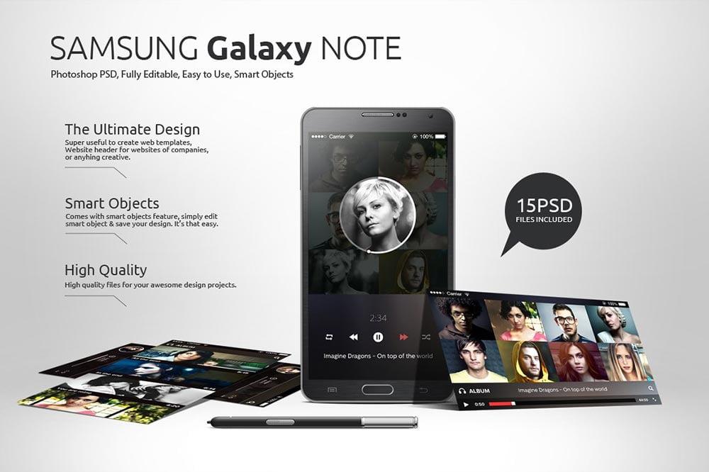 Samsung Smartphone Mockups