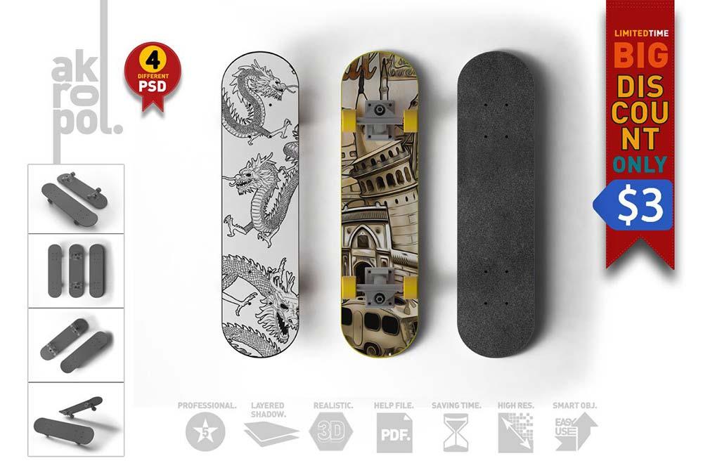 Skateboard Mock-Up