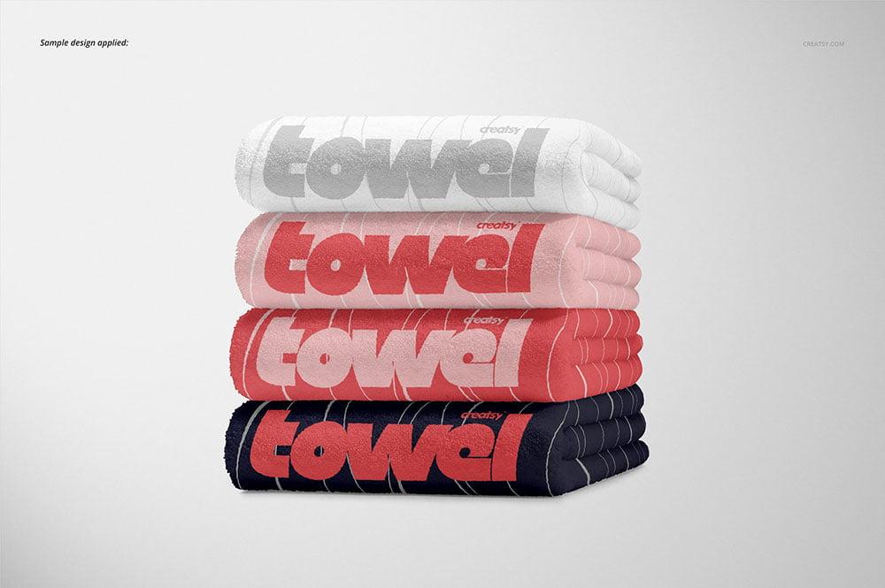 Towel Mockup Set