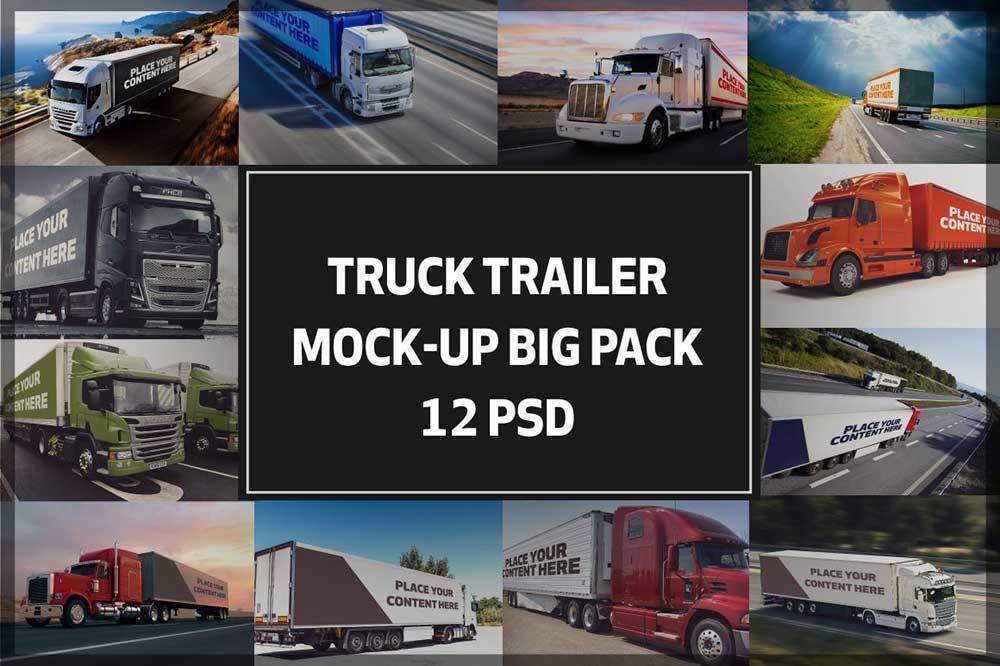 Truck Trailer Mock-up