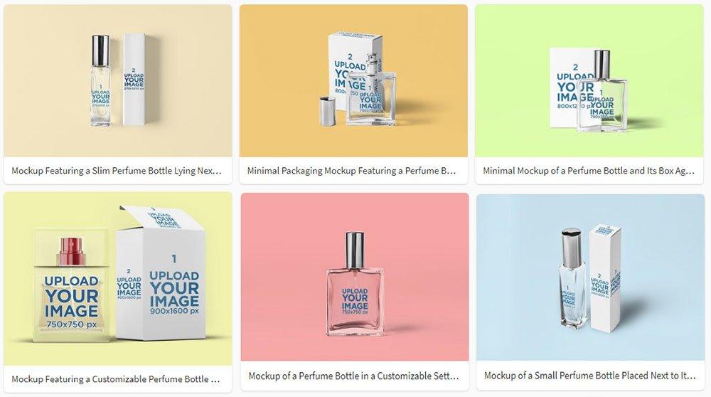 best Perfume Mockup