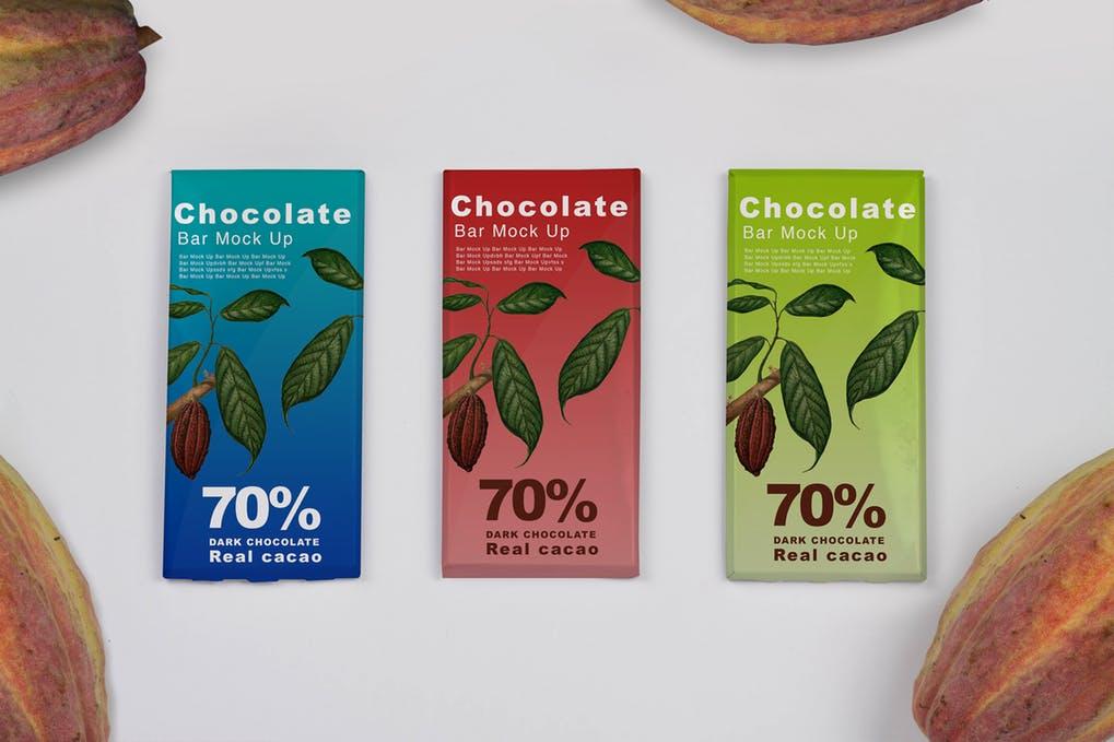 Cacao Chocolate Mock Up