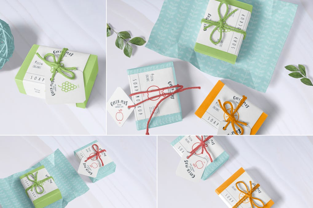 Craft Soap Mockups