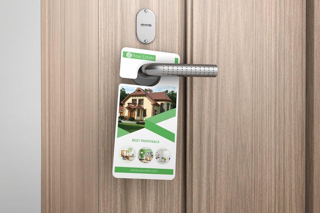 Door Hanger Mock-Up