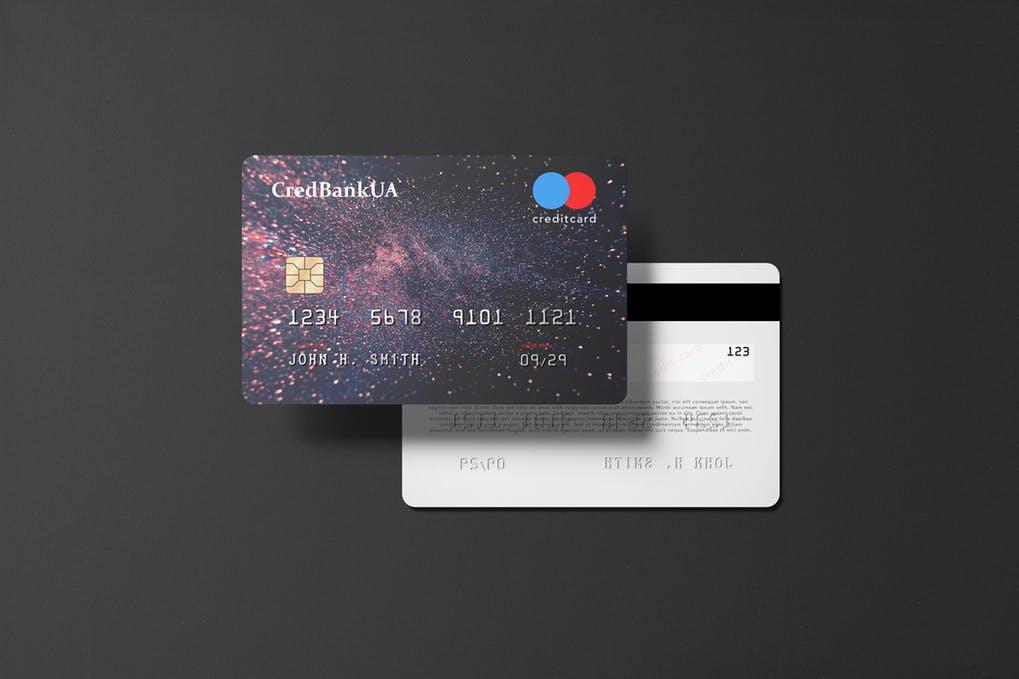 Landscape Credit Card Mockup