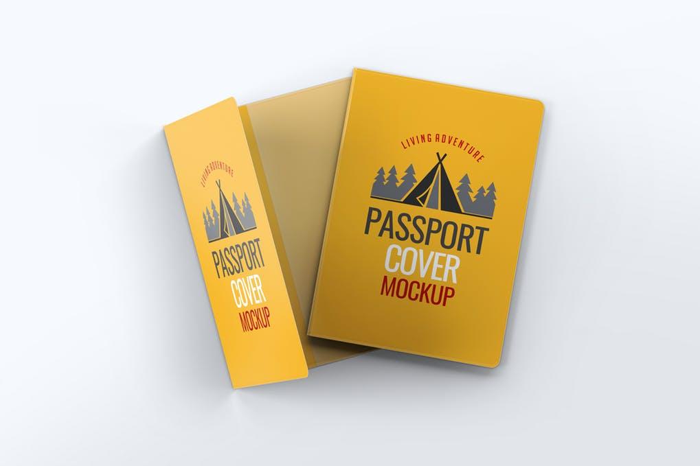 Passport Cover Mock-Up