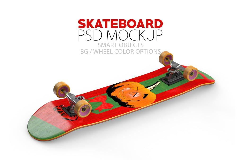 Skateboard Layered PSD Mock-ups