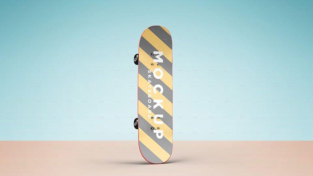 Skateboard Mockup PSD Templates