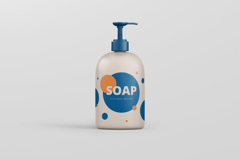 Soap Dispenser Mockup