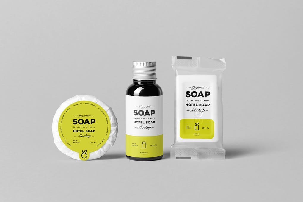 Soap Mock-up