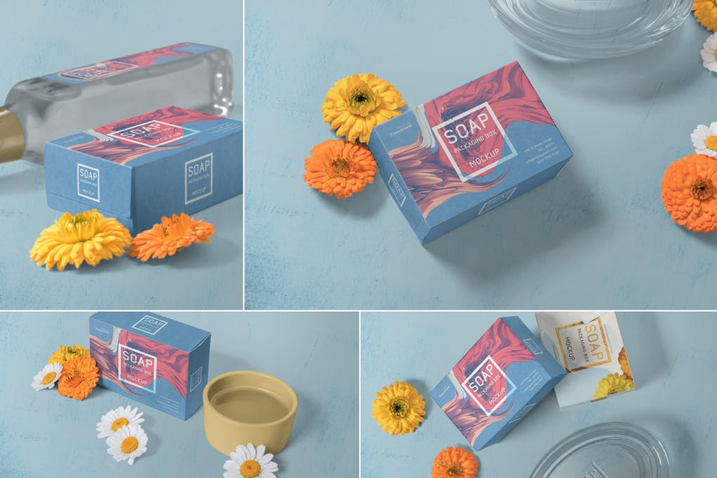 Soap Packaging Mockups