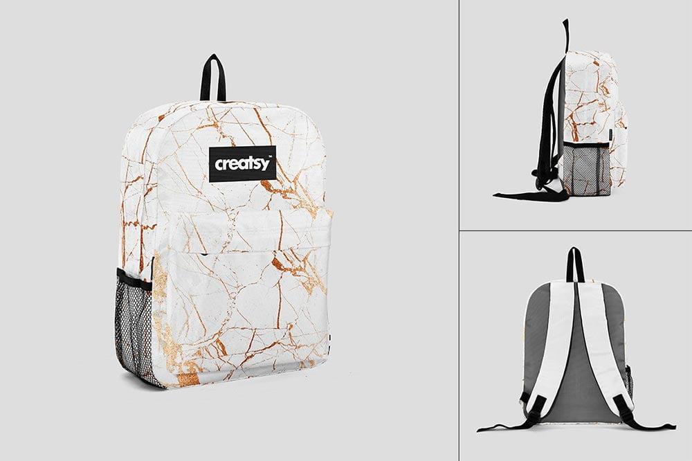 Backpack 2 Mockup Set
