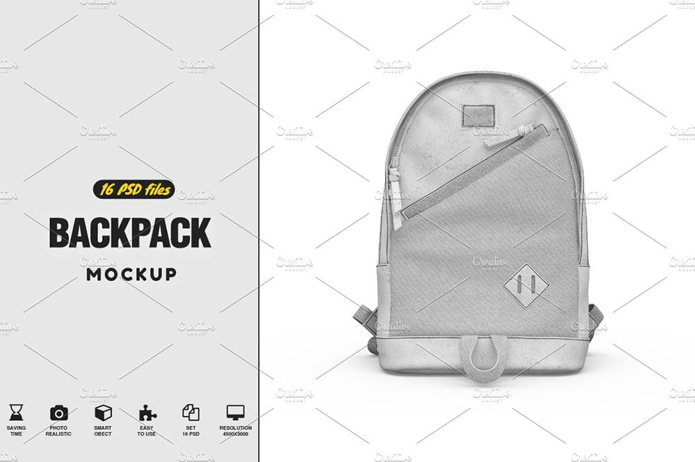 Backpack Mock-up