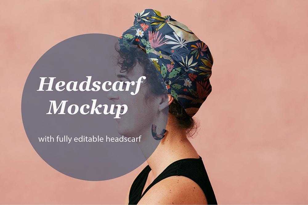 Headscarf Mockup