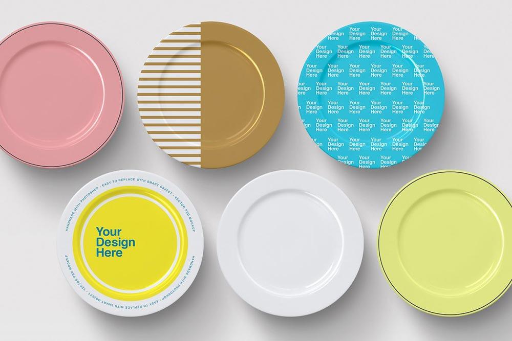 Plates Mockups