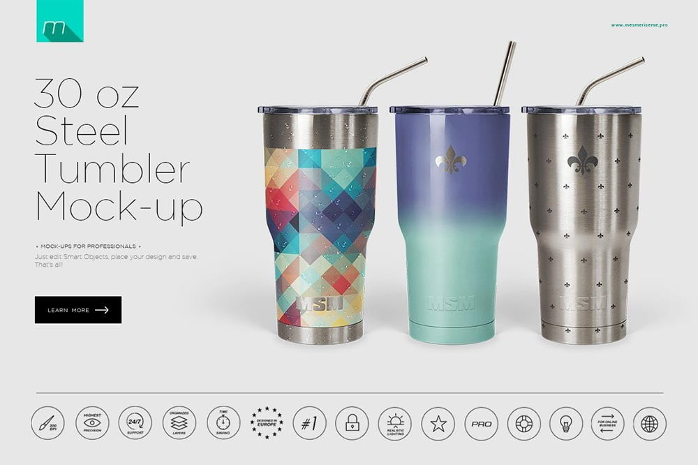 Stainless Tumbler Mock-up