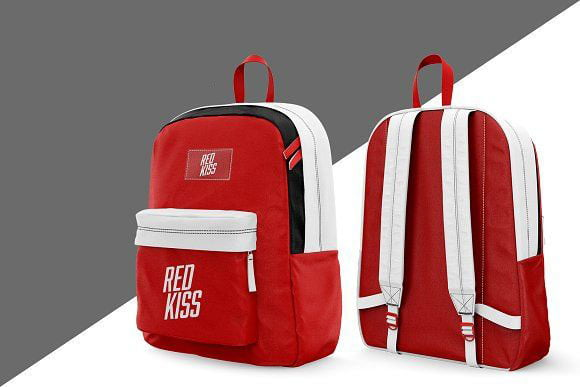 Backpack Mockup PSD Templates