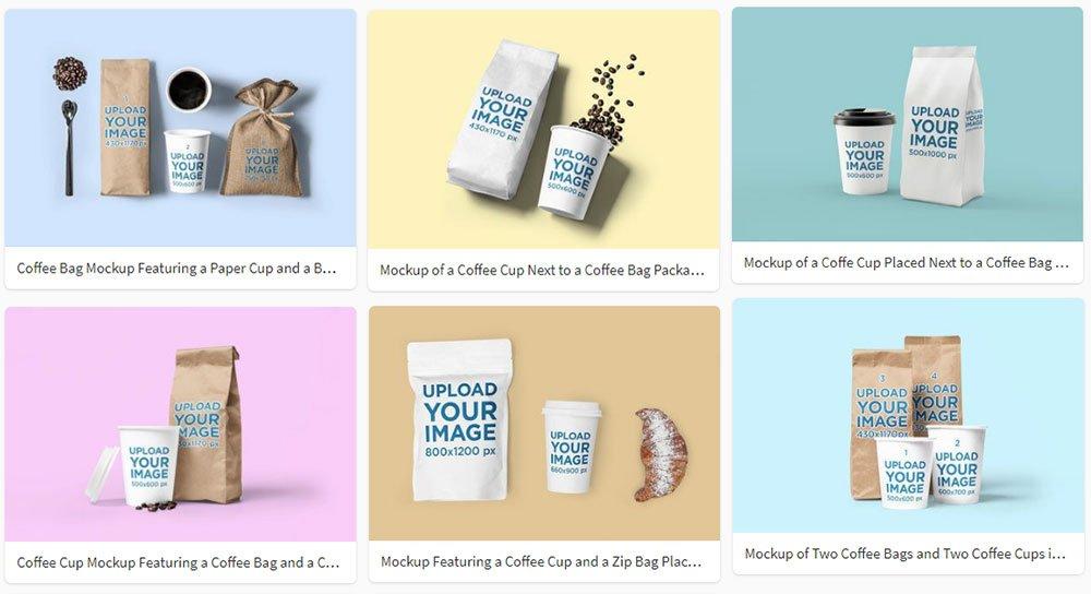 best Coffee Packaging Mockups