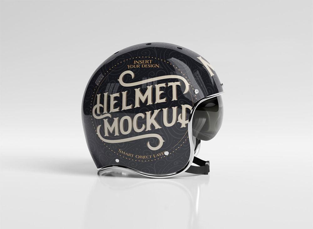Helmet Mockup PSD Templates