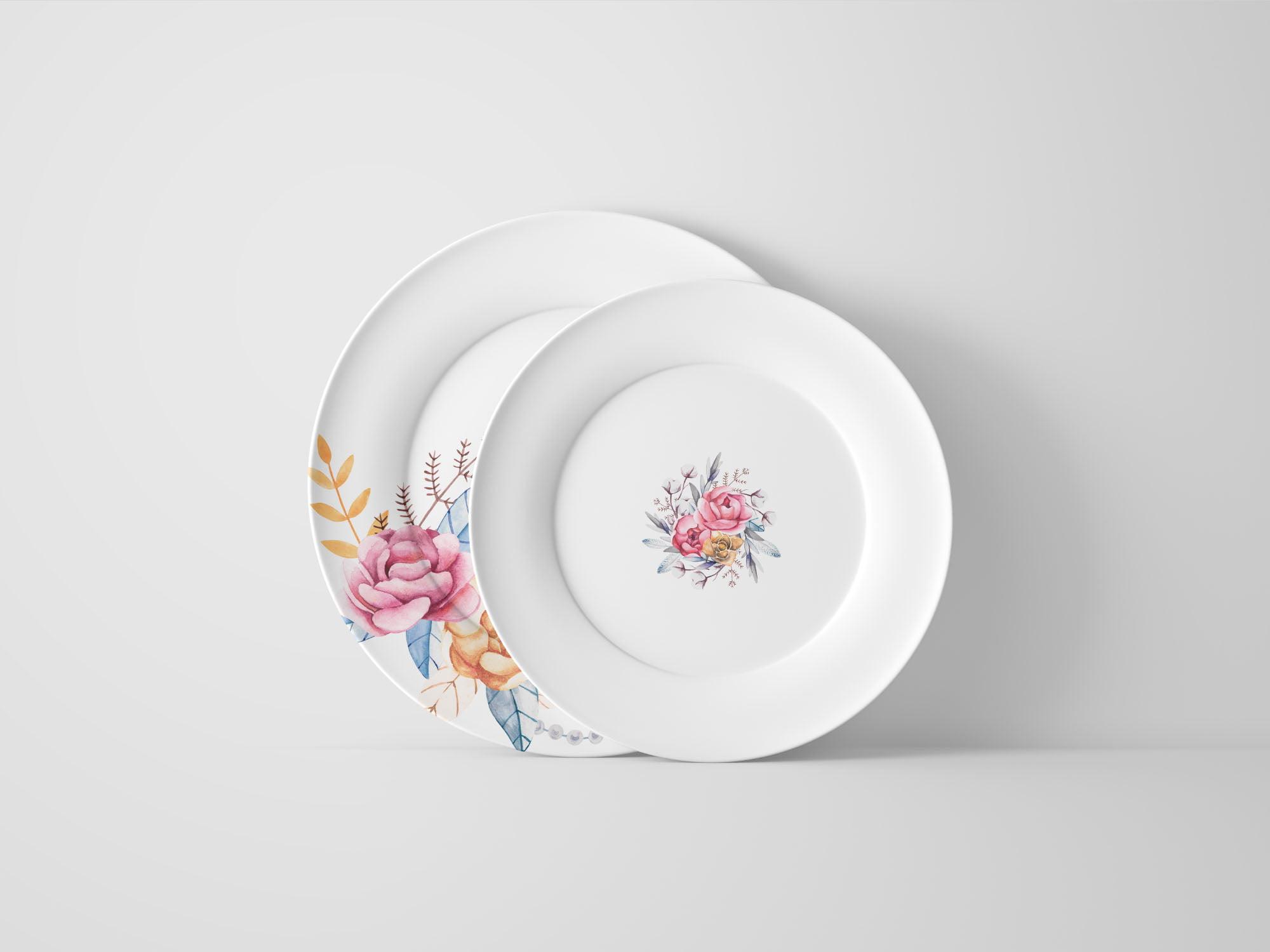 Plate Mockup PSD Templates