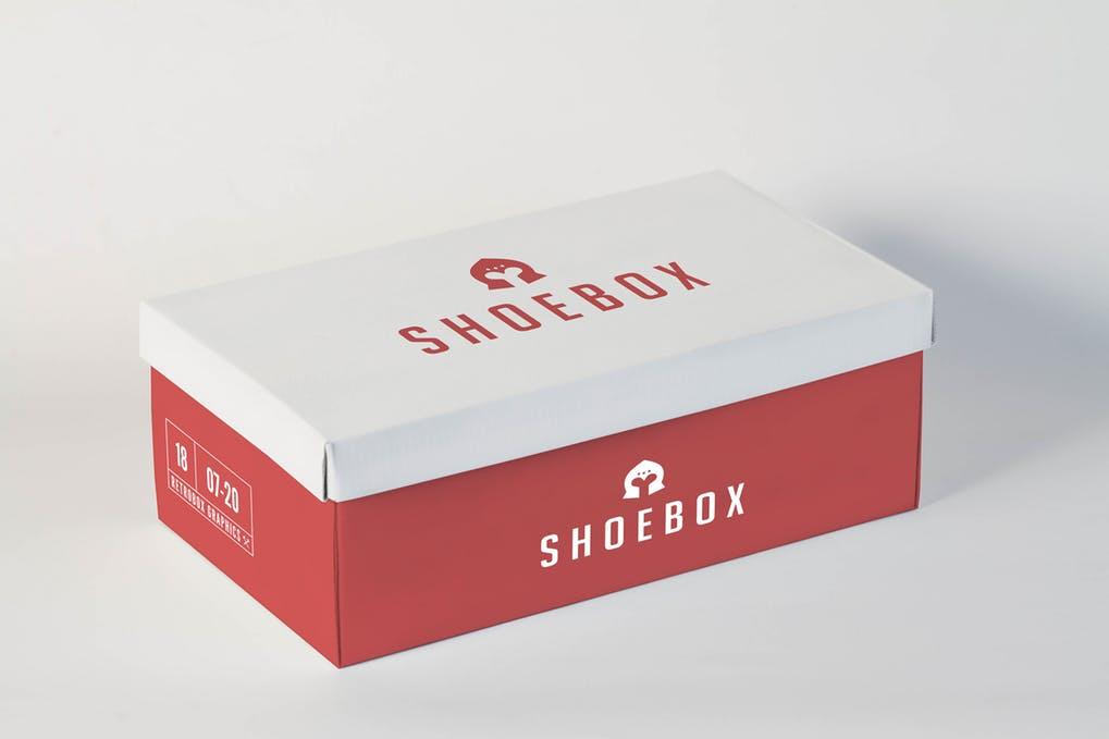 Shoe Box Mock Up