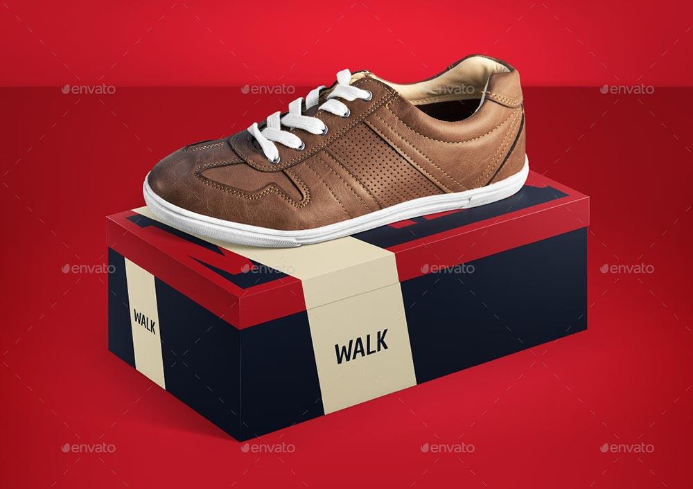 Shoe Box Mock-up