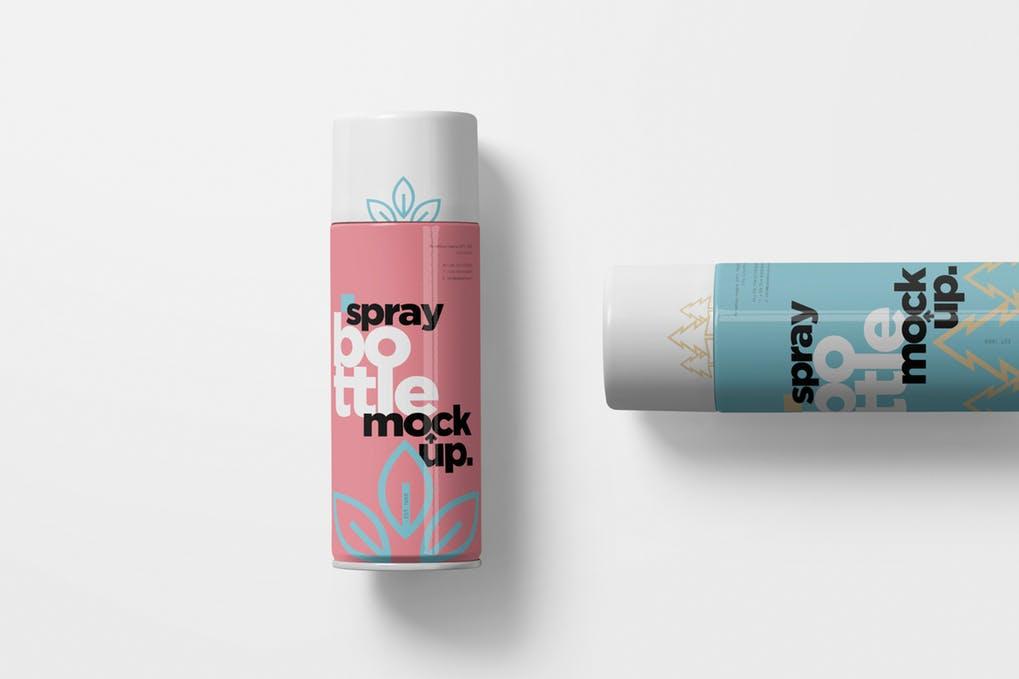 Spray Bottle Mockups