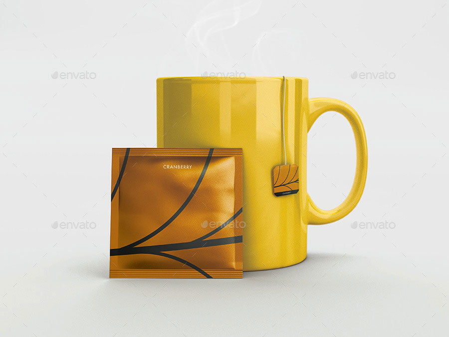 Tea Packaging Mock-Ups