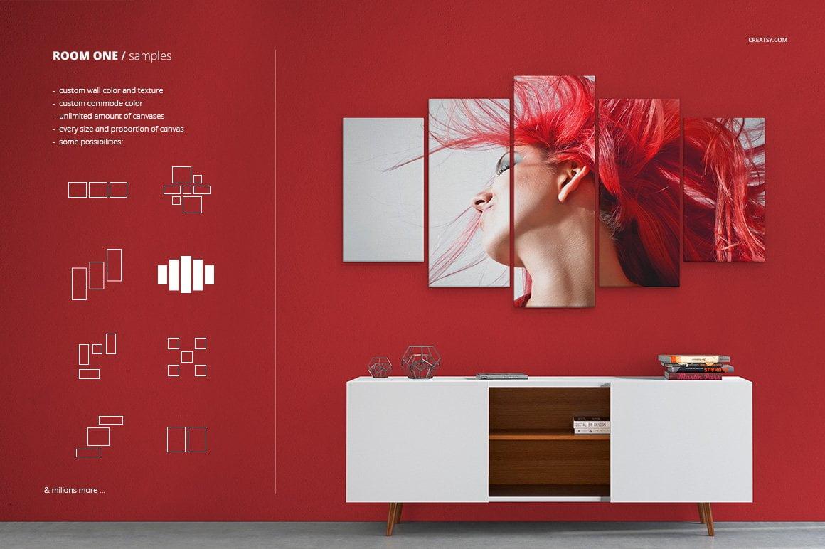 Canvas Print Generator Room Edition