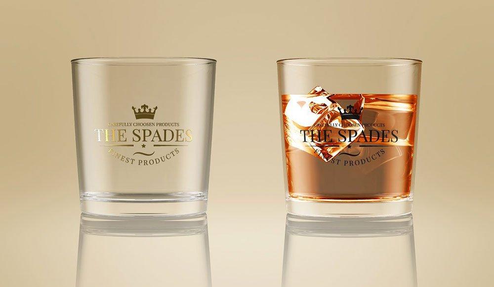 Whiskey Glass Mockup