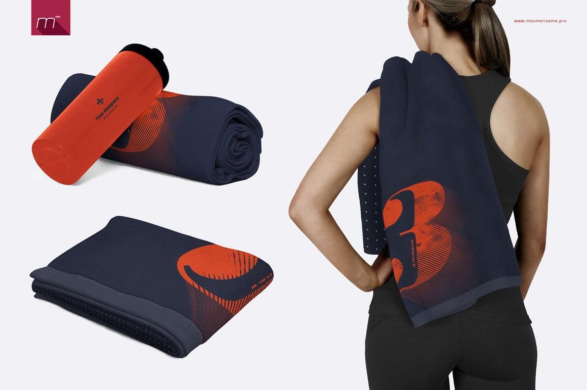 Gym Towel Mock-up