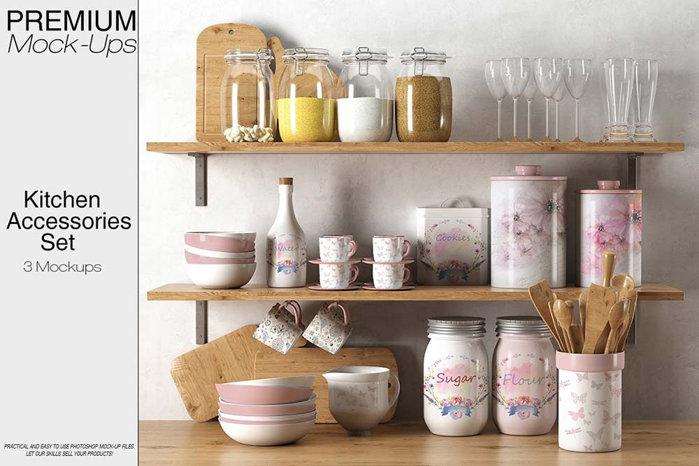 Kitchen Accessories Set