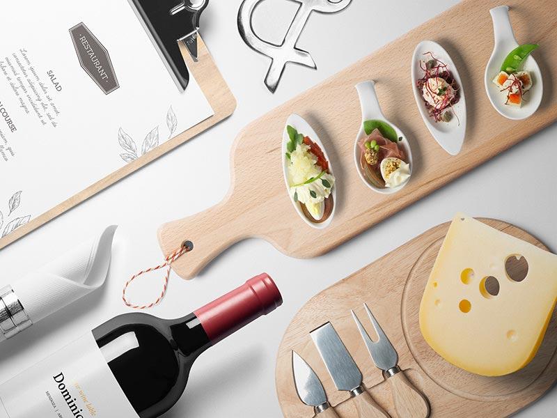 Best Kitchen Mockup PSD Templates