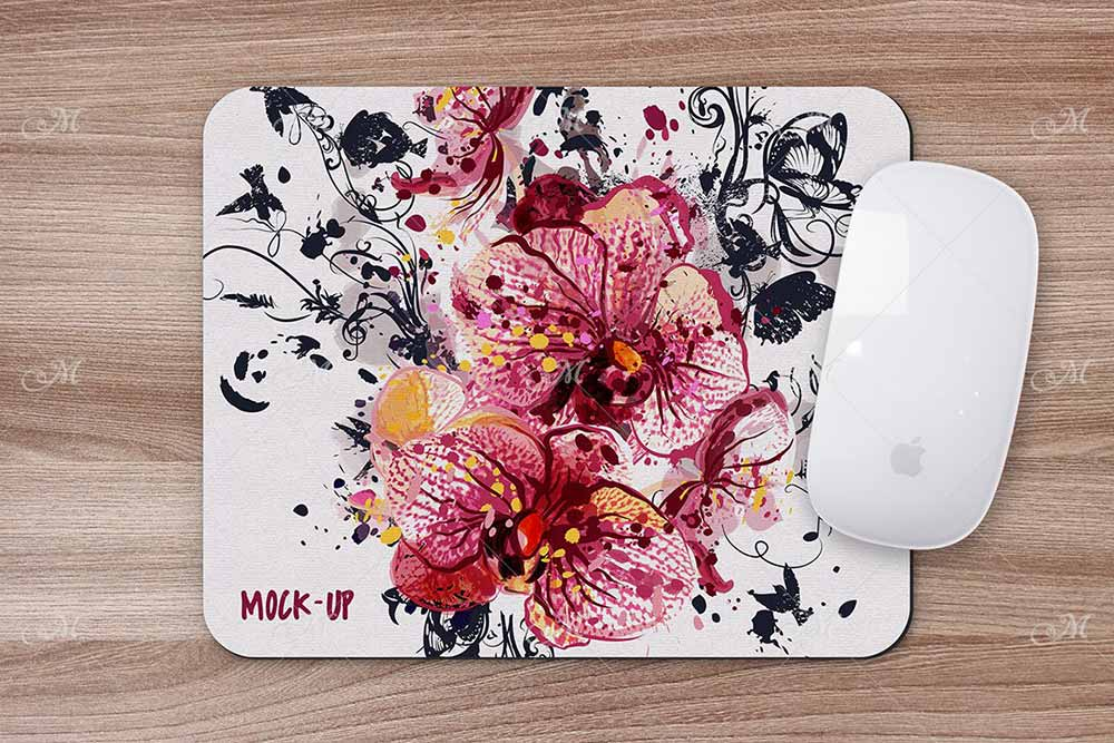 Mouse Pad Mock-up PSD