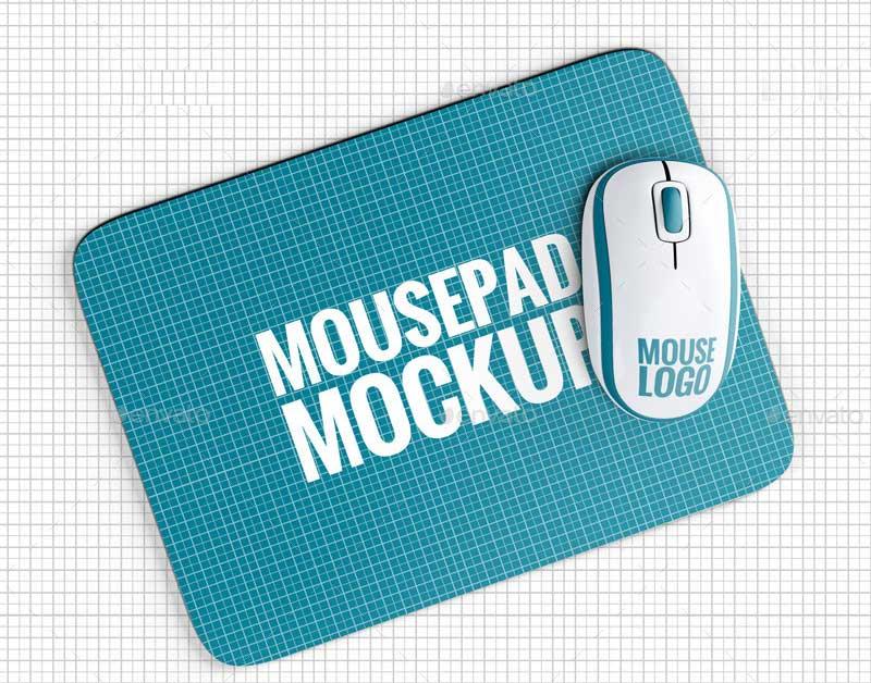 Mousepad / Mouse Mock-up