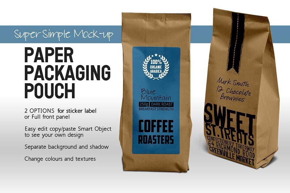 Paper Bag Coffee Package