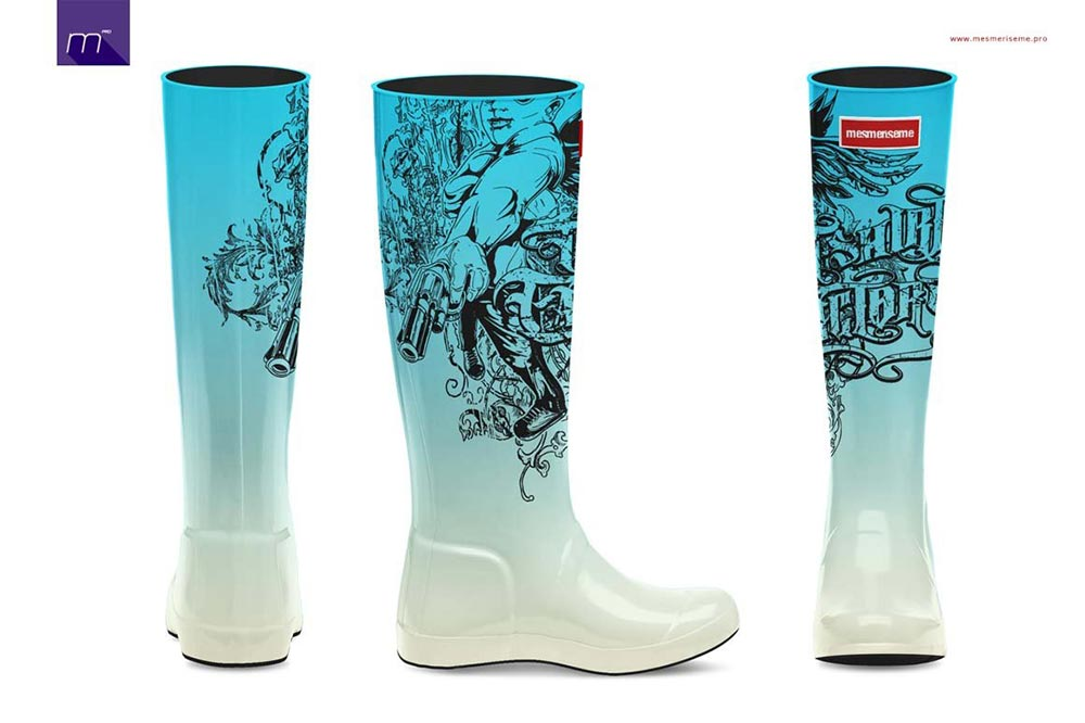 Wellingtons Boots Mock-up