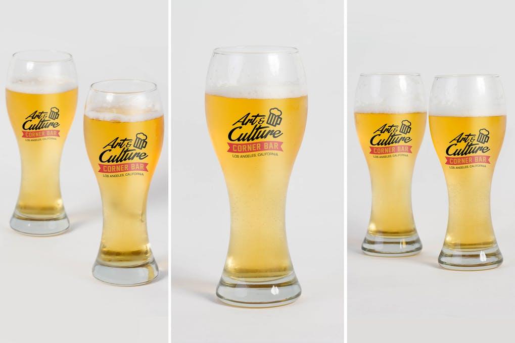 Beer Glass Mock Up