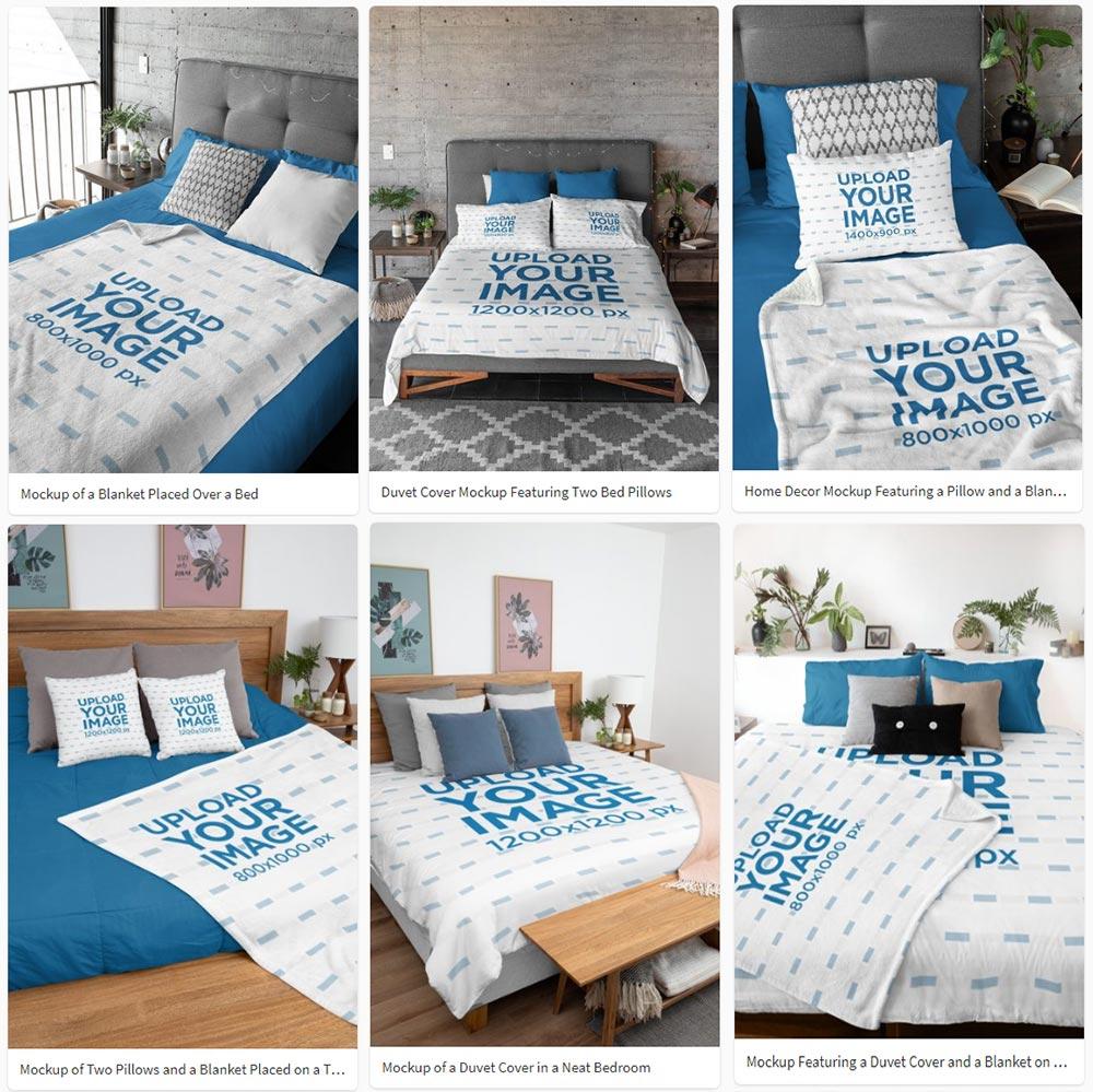 best Bedding Mockup
