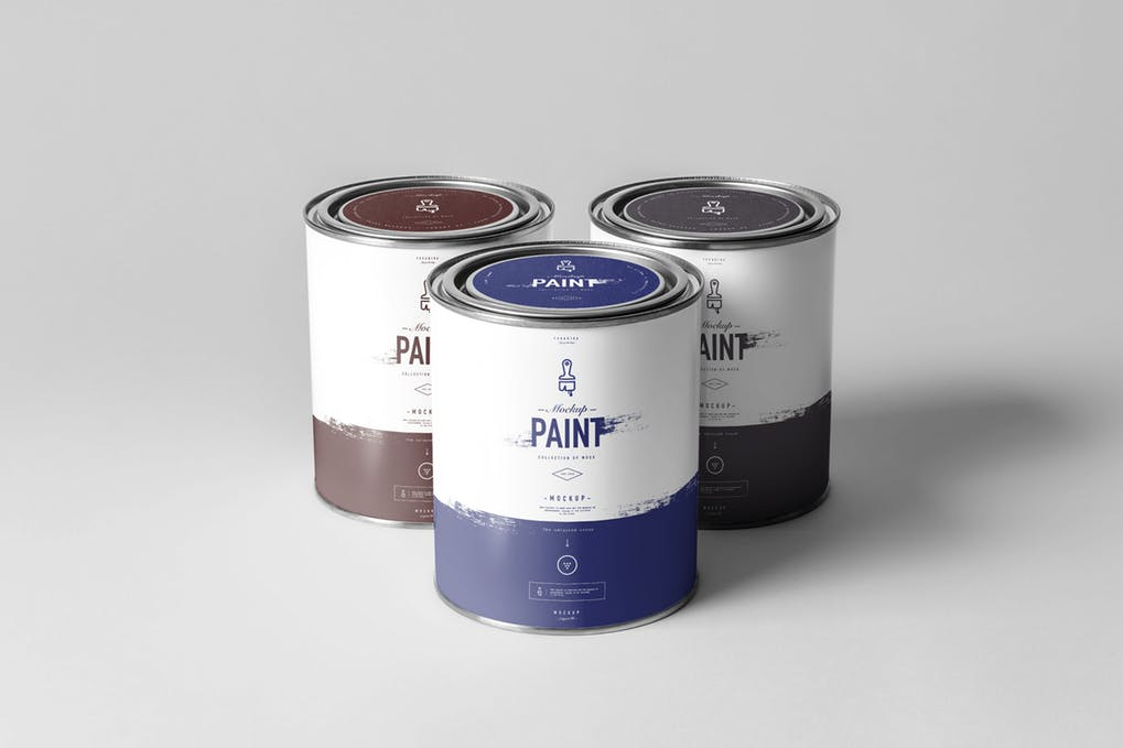 Can Paint Mock-up