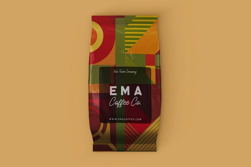 Coffee Bag Mock-up