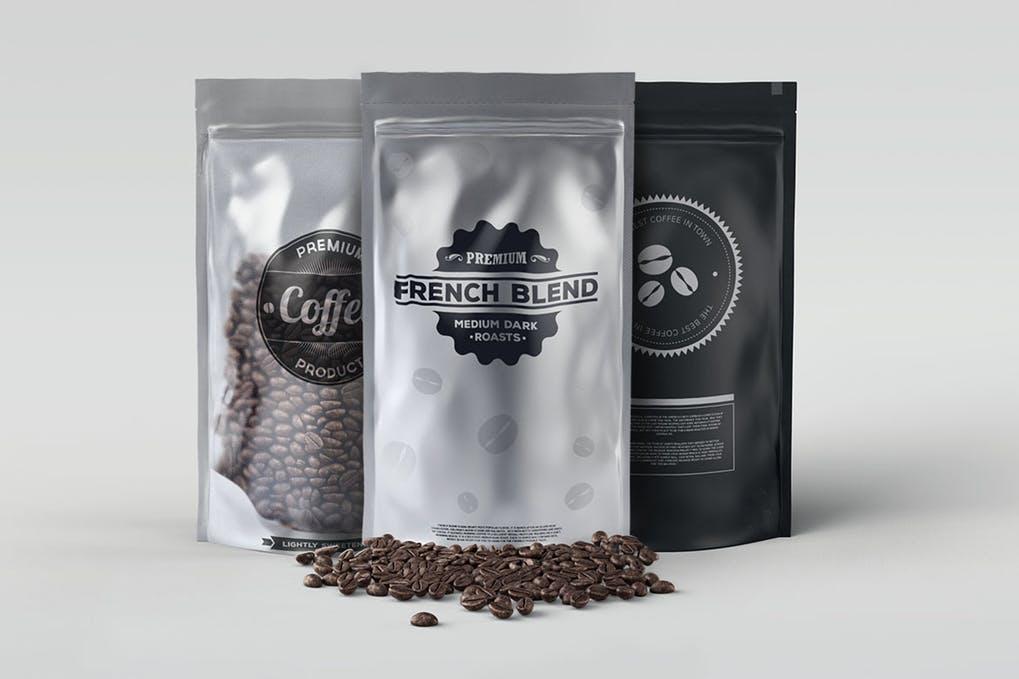 Coffee Bag Mockup Pack