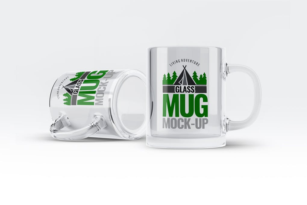 Glass Mug Mock-Up