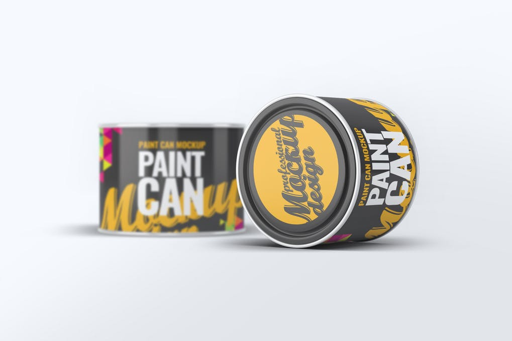 Paint Can Mock-Up