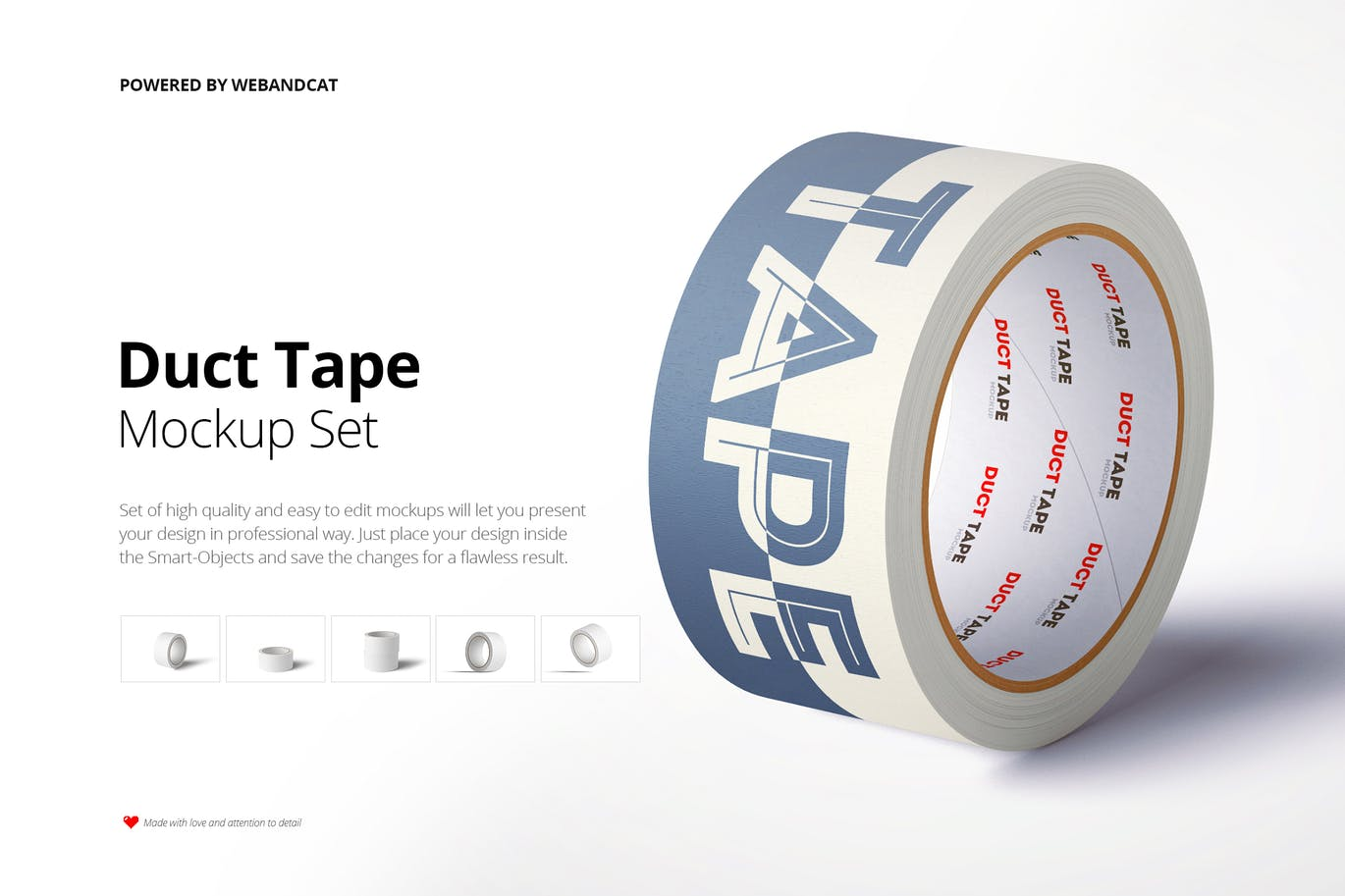 Paper Duct Tape Mockup