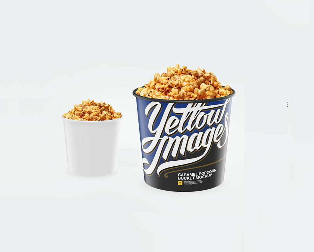 Popcorn Mockup PSD Templates