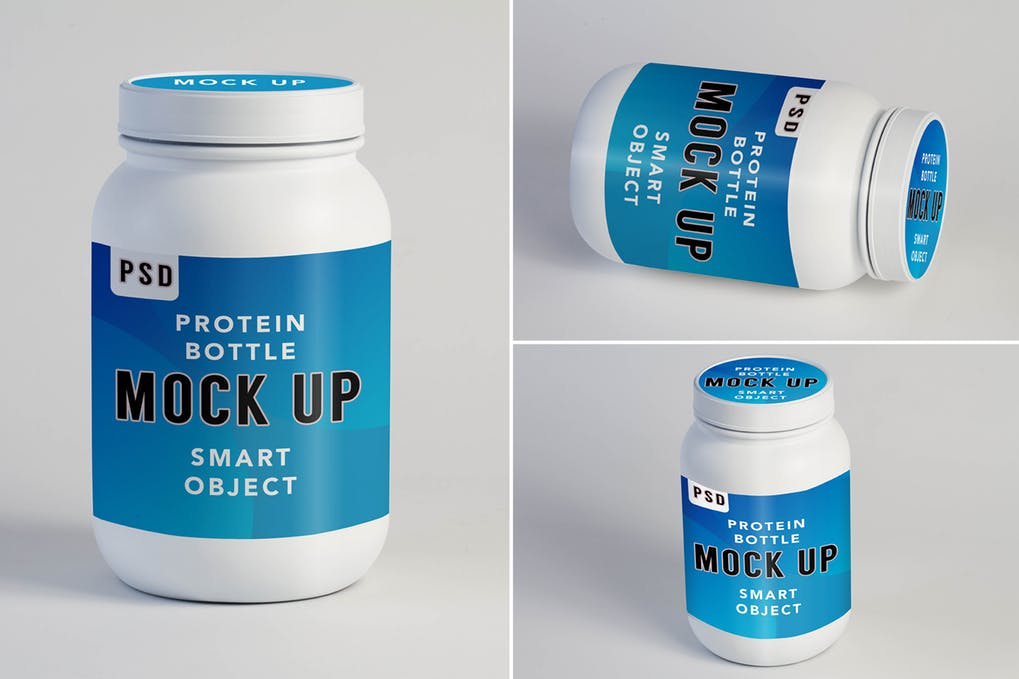 Protein Shake Mock Up