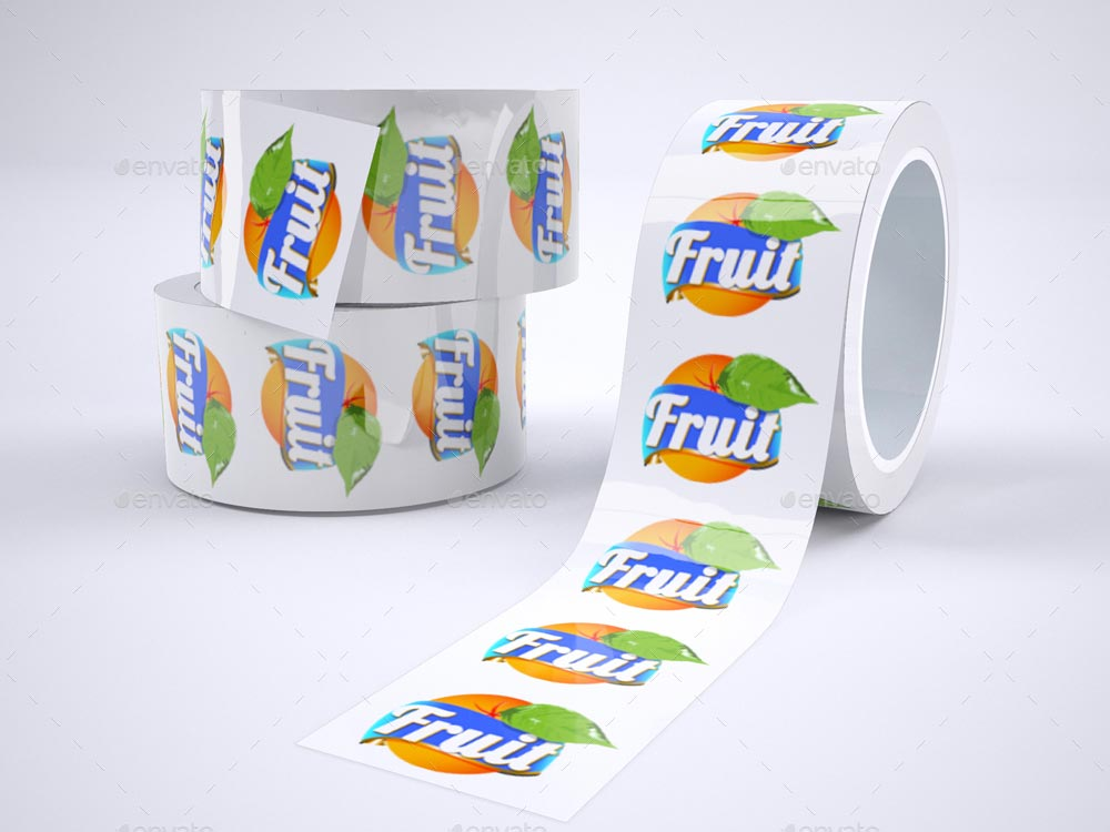 Packaging Tape Mock-Up