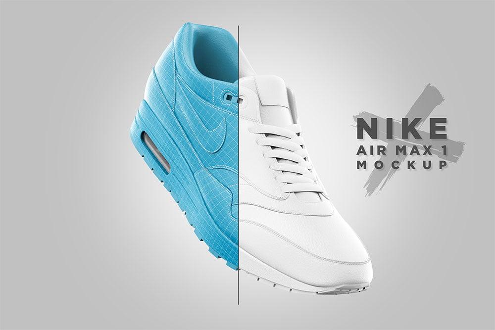 Nike Air Max Mockup