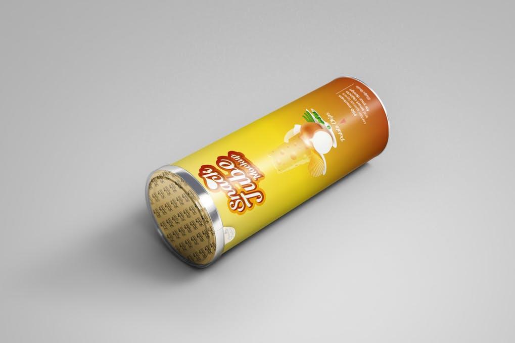 Snack Tube Mockup